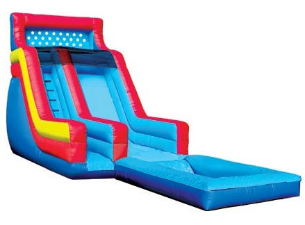 18' Super Slide Water Slide with pool