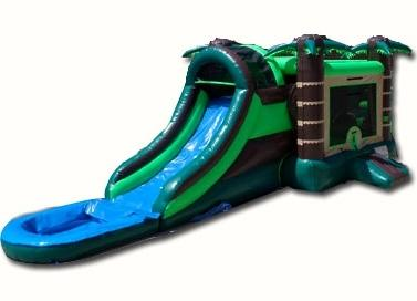 Brown Tropical Combo Water Slide
