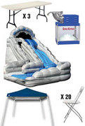 Discounted Party Package 5 - Wild Rapids Water Slide
