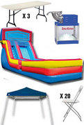 Discounted Party Package 7 - WET Slide