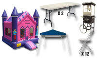 Discounted Party Package 1 - 13x13 Bouncer