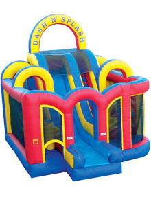 Dash N Splash Obstacle Course Dry