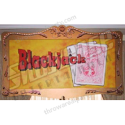 Marquee Sign - Black Jack