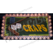 Marquee Sign - Craps