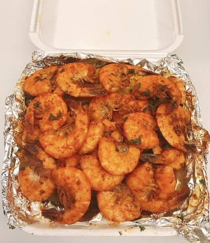 Grande Spicy Shrimp Plate