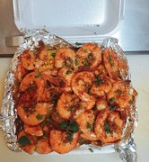 Grande Garlic Shrimp Combo