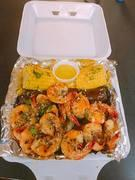 Garlic Shrimp Combo