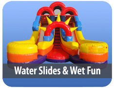 Water Slides and Wet Fun