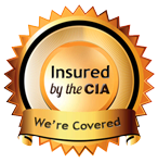 Insured by the CIA seal
