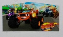 Blaze and monster machines Panel