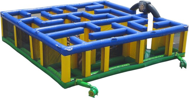 Inflatable Treasure Maze