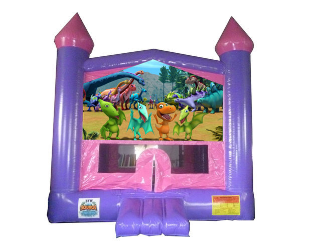 Dinosaur Princess Bounce