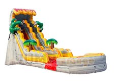 19Ft Lava Monster Slide (DRY)