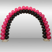 Three Color Balloon Arch- block