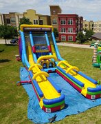 22FT Vertical Rush Slip N Slide