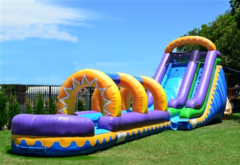 18ft Sunrise Slide w/ Slip N Slide