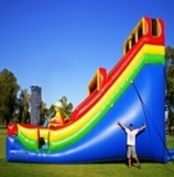 Dry Inflatable Slides