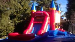 Castle Combo with water slide