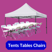 Tents/Tables/Chairs