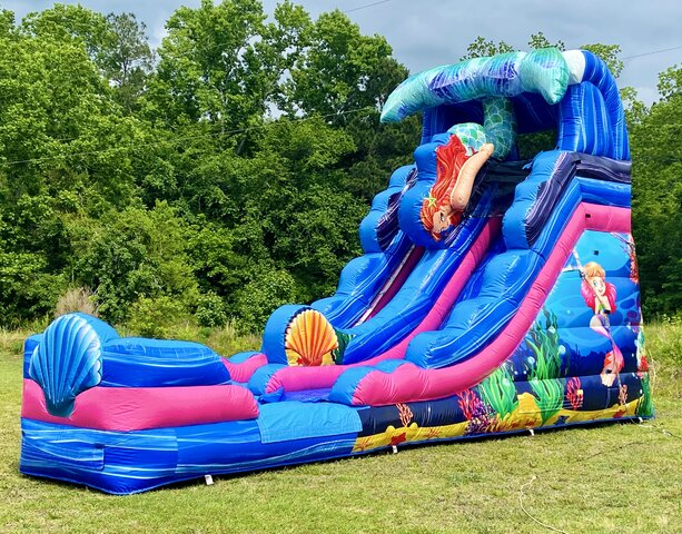 16Ft Mermaid Water Slide