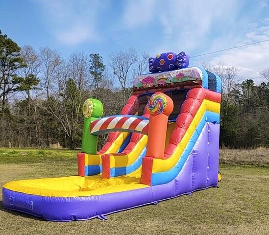 Candy Land 17FT Water Slide