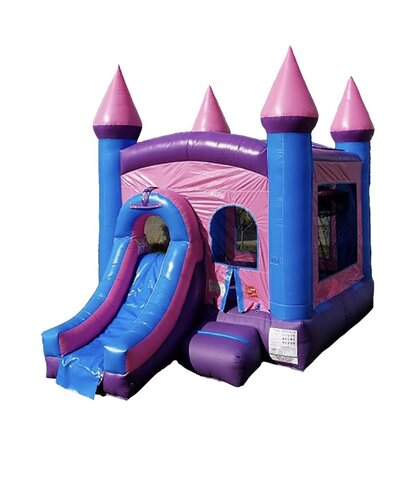 Princess Jumpcastle w/ Slide