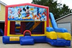 Mickey Mouse Bouncer/Obstacle/Slide Combo (5-1)
