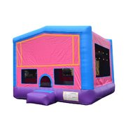 A Module Bounce House Pink Large