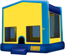 A Module Bounce House Blue Large