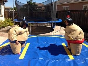 Sumo Event Package! 2 tables, 12 chairs and 1 concession.