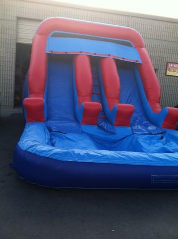 ASJ - Double Lane Giant Slide! $299 Wet