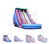 ASJ-19' Tall Double Lane Wave Slide -$499 WET