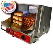 ASJ - HOT DOG STEAMER/BUN WARMER