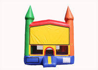 AJS - Multi-Color Castle with Basketball Hoop!