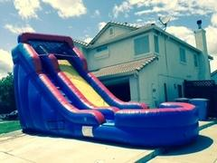 ASJ - 18 Foot Tall Giant Slide! DRY