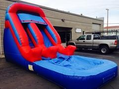 ASJ - Back Yard Water Slide! 14