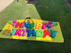 Banner - Happy Birthday banner (new)