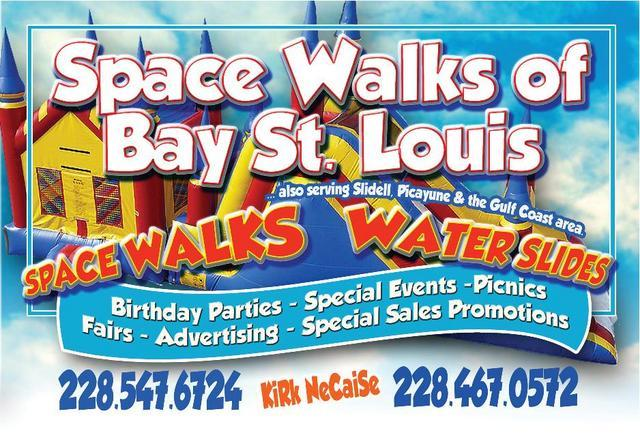 SPACE WALKS OF BAY ST. LOUIS