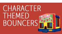 Character Themed Bounce Houses