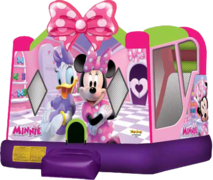 Minnie Mouse Bounce House Combo (Dry)