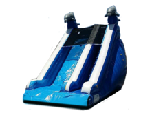 Deep Blue Dive 18ft Mega Slide (Dry)
