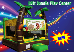The 3 in 1 Jungle Play Center