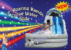 19' Roaring Curve Water Slide Shared