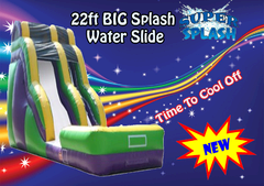 22ft Big Splash Single Line Boom shared