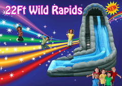 22ft Wild Rapid WaterSlide SHARED