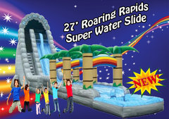 32' Roaring Rapids Super Water Slide