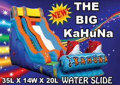 The Big Kuhuna Dry Slide