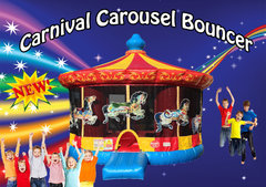 Carnival Carousel Bounce House  Shared