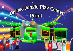 Deluxe Jungle Play Center Shared