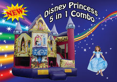 Disney Princess 5 in 1 Combo